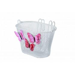 koš BASIL Jasmin Basket Butterfly bílý