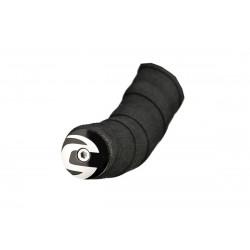 18 C-DALE ZÁSLEPKA ŘIDÍTEK LIGHT HANDLEBAR PLUGS (CP1108U14OS/BLACK-WHITE)