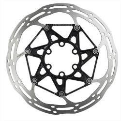 SRAM ROTOR CNTRLN 2P 160MM BLACK TI ROUNDED