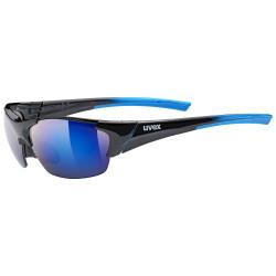1 UVEX BRÝLE BLAZE III, BLACK BLUE/MIRROR BLUE (2416)