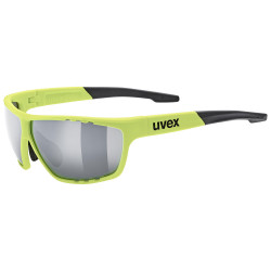 1 UVEX BRÝLE SPORTSTYLE 706, NEON YELLOW/SILVER (6616)