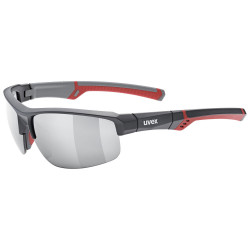 1 UVEX BRÝLE SPORTSTYLE 226, GREY RED/MIRROR SILVER (5316)