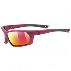 UVEX BRÝLE SPORTSTYLE 225 POLA, RED GREY/MIRROR RED (3530)
