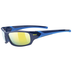 1 UVEX BRÝLE SPORTSTYLE 211, BLUE MIRROR YELLOW (4416)