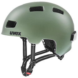 1 UVEX HELMA CITY 4, MOSS GREEN MAT 55-58