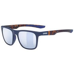 2021 UVEX BRÝLE LGL 42, BLUE MAT HAVANNA / LITEMIRROR SILVER (4616)