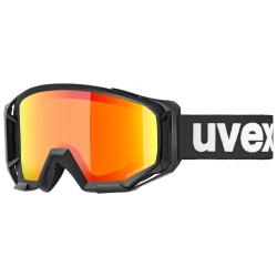 2021 UVEX ATHLETIC CV, BLACK MAT, MIRROR ORANGE (2230)