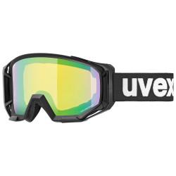 2021 UVEX ATHLETIC CV, BLACK MAT, MIRROR GREEN (2130)