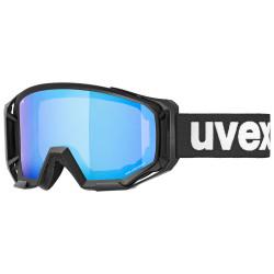 2021 UVEX ATHLETIC CV, BLACK MAT, MIRROR BLUE (2030)