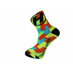 ponožky HAVEN LITE Silver NEO CRAZY 2páry