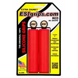 gripy ESI Chunky Extra červené