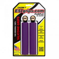 gripy ESI Chunky purpurové