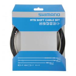 bowdeny+lanka Shimano SP41 set černý