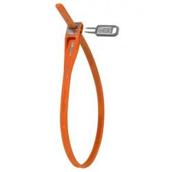 zámek Hiplok tie lock 42cm oranžový