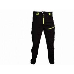kalhoty dlouhé unisex HAVEN SINGLETRAIL LONG černo/zelené