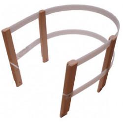 ohrádka dřevěná na sáně dřevo + plast