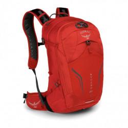 batoh + pláštěnka OSPREY SYNCRO 20 Firebelly Red