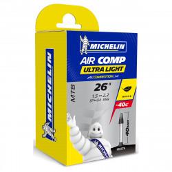 MICHELIN AIR COMP ULTRALIGHT GAL-FV 40MM 26X1.5/2.2 696961