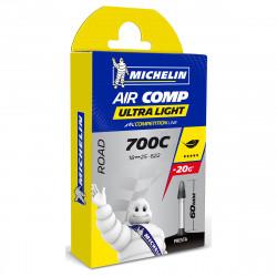 MICHELIN AIR COMP ULTRALIGHT GAL-FV 60MM 700X18/25 125000