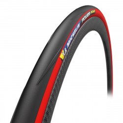 MICHELIN POWER ROAD RED TS KEVLAR 700X25C COMPETITION LINE 823544
