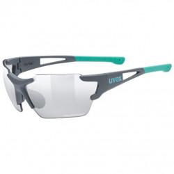 brýle UVEX Sportstyle 803 small race VM šedo/zelené
