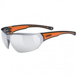 brýle UVEX Sportstyle 204 černo/oranžové