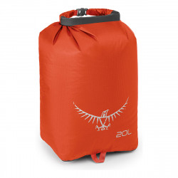 2021 OSPREY ULTRALIGHT DRY SACK 20L POPPY ORANGE