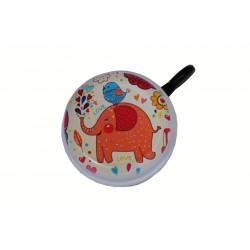 zvonek smaltovaný potisk slon