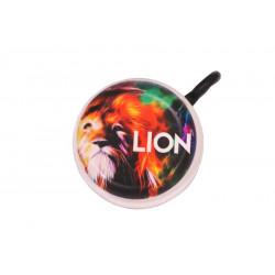 zvonek smaltovaný potisk lev