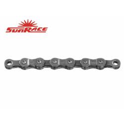 řetěz SunRace CNM94 9k 116čl. šedý