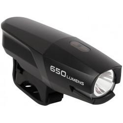 osvětlení přední SMART 186 USB černé 650lm