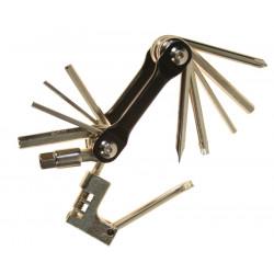 klíče multi HAVEN Chain zavírací černá s nýtovačem