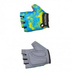 rukavice dětské Progress VALEDO MITTS modro/limetkové