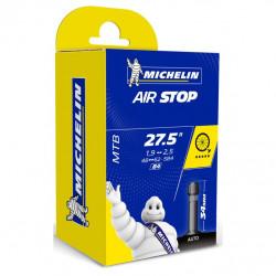 "duše MICHELIN AIR STOP 27.5""x1.90/2.7 (48/62-584) AV/34mm - poškozená krabička"