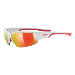 2021 UVEX BRÝLE SPORTSTYLE 215 WHITE MAT RED/RED (8316)