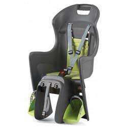 sedačka Polisport Boodie na nosič šedo-zelená