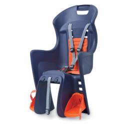 sedačka Polisport Boodie RMS na nosič modro-oranžová