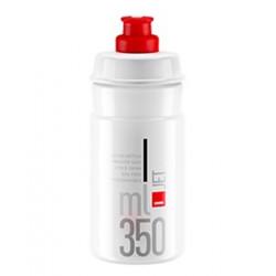 lahev ELITE Jet 21´čirá/červené logo 350 ml
