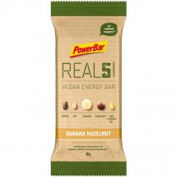 Tyčinka PowerBar REAL5 Vegan banán a oříšek 65g