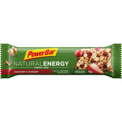 Tyčinka PowerBar NATURAL ENERGY CEREAL Vegan jahoda a brusinky 40g