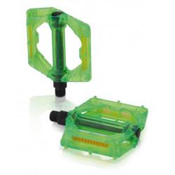 pedály XLC Plattform PD-M16 zelené