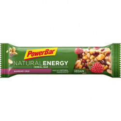 Tyčinka PowerBar NATURAL ENERGY CEREAL Vegan křupavé maliny 40g