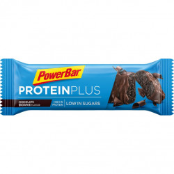 Tyčinka PowerBar PROTEIN PLUS Low Sugar čokoládové brownie 35g