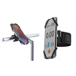 "držák na mobil BONE Bike+Run Tie Connect Kit 4,7-7,2"" černý"