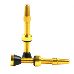 ventilek bezdušový  HAVEN alu 34mm zlatý 2ks