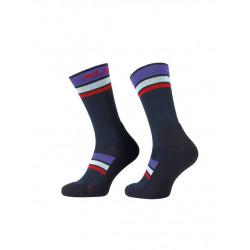 ponožky XLC All MTN CS-L02 modro fialové