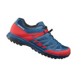 boty Shimano ET5 červené