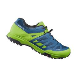 boty Shimano ET5 neonové žluté