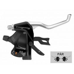 řadicí a brzdové páky SunRace STM406 3x7p